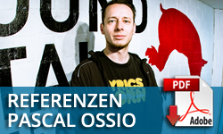 Pascal Ossio - Sound Engineer